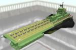 サラミス改級航空巡洋艦 ガンビア・ベイ Ver1.0 [エゥーゴカラー] [SALAMIS-KAI class MS light aircraft carrier GAMBIER BAY]