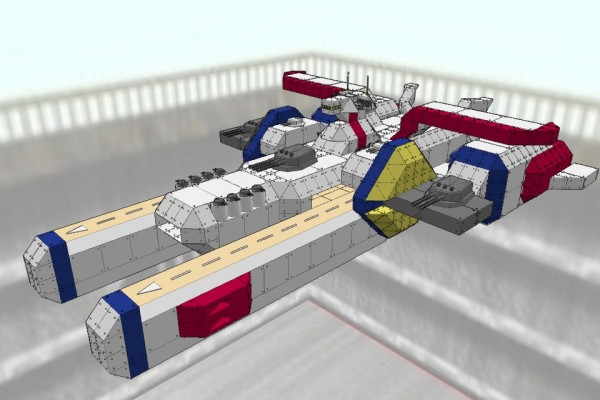 ペガサス級強襲揚陸艦 ホワイトベース Ver2.0 [PEGASUS class amphibious assault ship WHITE BASE]