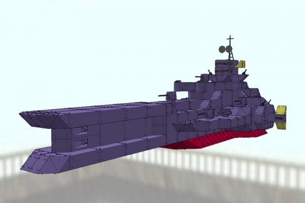 サラミス級宇宙巡洋艦 サラミス Ver1.0 [SALAMIS class cruiser SALAMIS]
