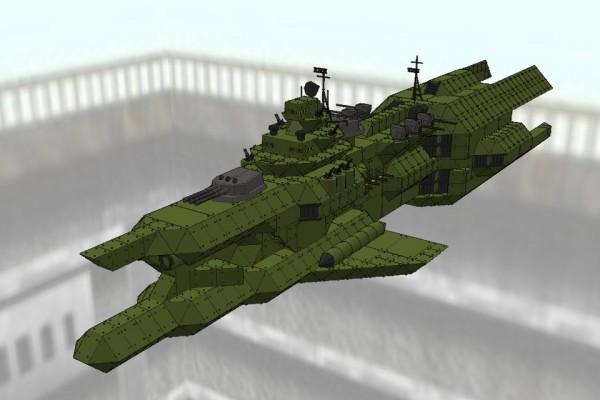 チベ級重巡洋艦 ザイドリッツ Ver1.0 [TIBE class heavy crusir SEYDLITZ]