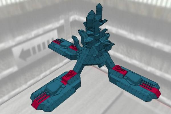 オーラ・バトル・シップ グラン・ガラン Ver2.0 [Aura Battle Ship GRAN-GARAN]