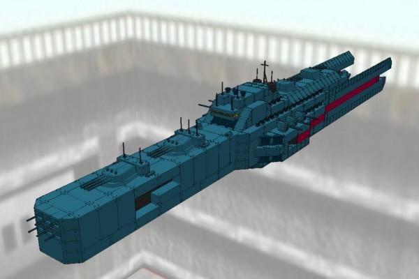 ヒューべリオン級新型分艦隊旗艦級戦艦 ヒューべリオン Ver2.01 [HYPERION]