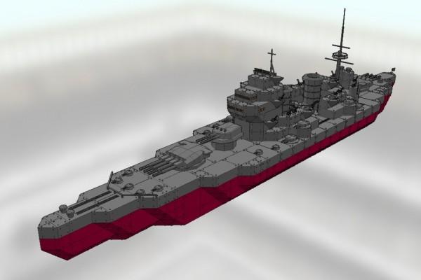 キング・ジョージ5世級戦艦 キング・ジョージ5世 Ver2.1 [HMS KING GEORGE V]