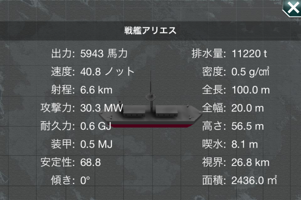 戦艦アリエス