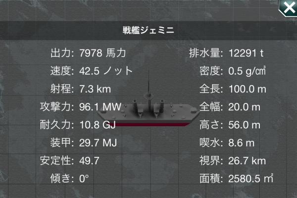 戦艦ジェミニ