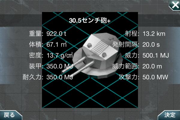 30.5センチ砲+