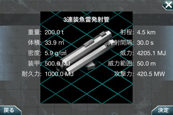 3連装魚雷発射管
