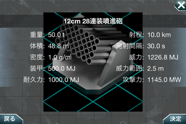 12cm 28連装噴進砲
