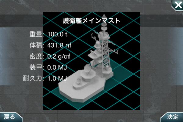 護衛艦メインマスト
