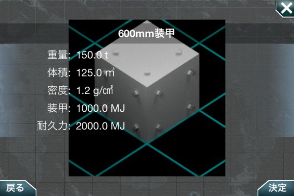 600mm装甲