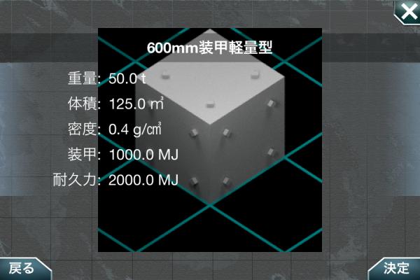 600mm装甲軽量型