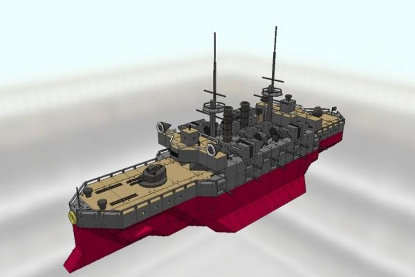 敷島級戦艦 三笠 Ver1.0