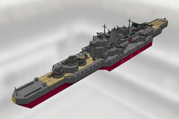 妙高級重巡洋艦 那智 Ver1.0
