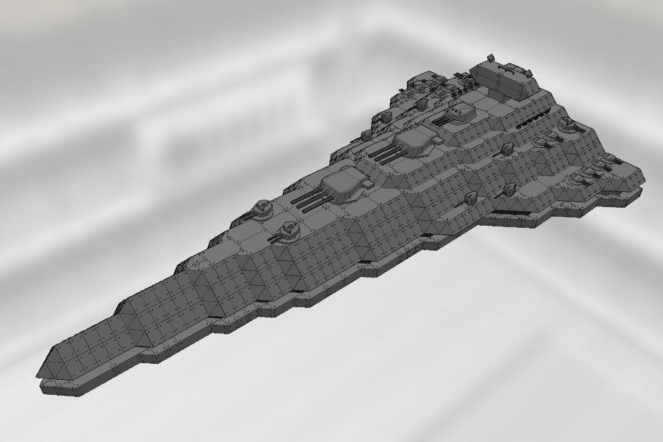 テクター級スター・デストロイヤー Ver1.0 | バトルシップクラフト(Battleship Craft ...