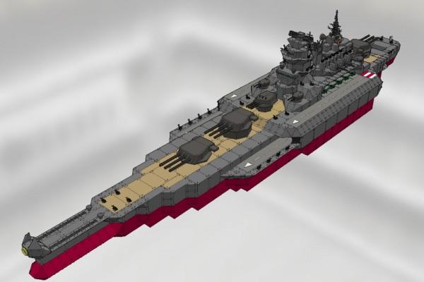 改大和級航空戦艦 甲斐 Ver2.0