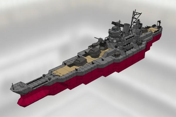 白根級装甲巡洋艦 白根 Ver2.1