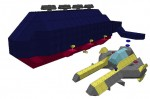 水流式潜水艦を造ってみる(クリン級潜水艦)