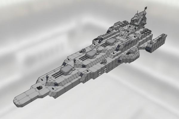 バーミンガム級大型宇宙戦艦 バーミンガム Ver1.1 [BIRMINGHAM class battleship BIRMINGHAM]