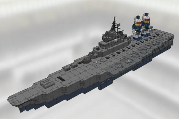 ヒマラヤ級対潜空母 アンデス Ver1.0 [HIMALAYA Class Anti-submarine warfare carrier ANDES]