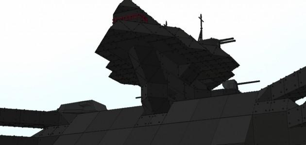 ダブデ級大型陸戦艇 ダブデ Ver1.0 [DOBDAY class Ground Battleship DOBDAY]